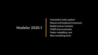 Modeler 2020.1 -Houdiniでの手動モデリング機能を大幅改善できるアドオン新バージョン!(旧:DM for Houdini)