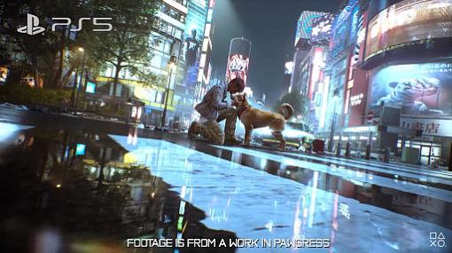 "「GhostWire: Tokyo」の最新ムービー公開。三上真司氏による""重大発表""は……犬?"