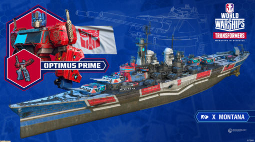 『World of Warships』9月にトランスフォーマーとのコラボを実施! バンブルビーたちが艦長として登場