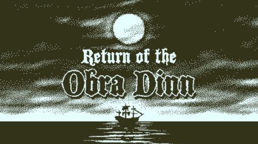 高評価推理ADV『Return of the Obra Dinn』スイッチ/PS4/Xbox One版の海外配信日が決定!