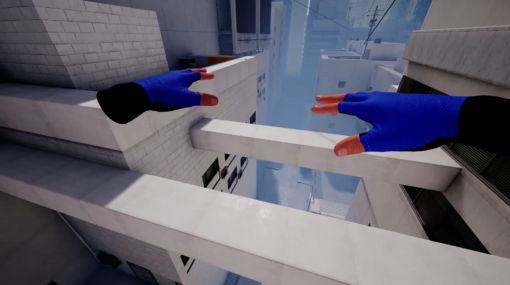 パルクールで屋根から屋根へと飛び回るVRアクションゲーム『STRIDE』今夏発売決定。『Mirror's Edge』をそのままVRにしたようなアクションタイトル