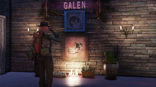 『Fallout 4』や『Fallout 76』の絵画に描かれた子猫のモデルが死去。心臓病で余命わずか半年と宣告されたが、その後5年間生きて幸せを振りまく